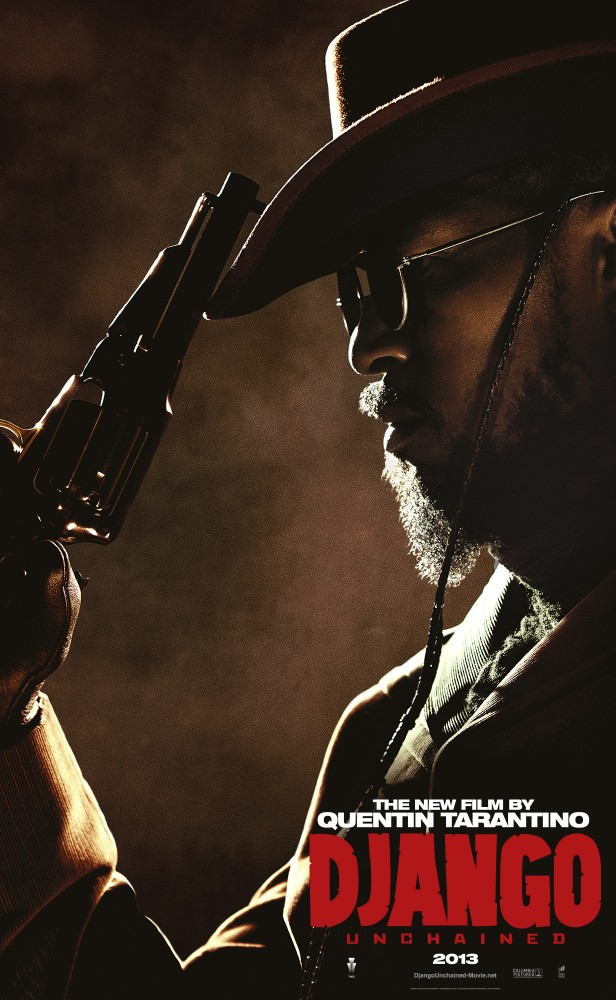 DjangoUnchained JamieFoxx Django And His Friends Say Hello in Five New Character Posters for Django Unchained