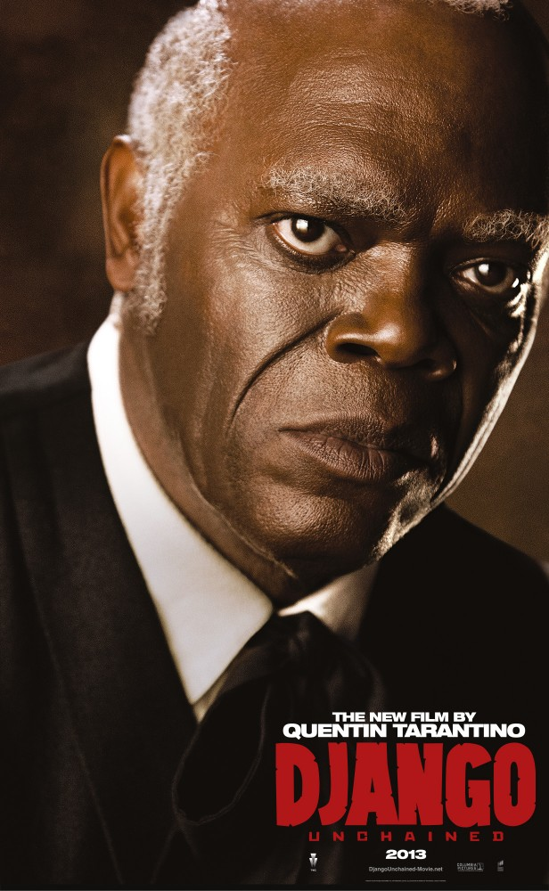 DjangoUnchained SamuelLJackson Django And His Friends Say Hello in Five New Character Posters for Django Unchained