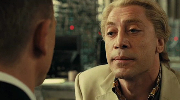 Javier Bardem as Silva Skyfall Review: The Bond Brand Soars to New Heights