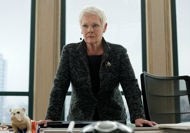 Judi Dench as M Skyfall Review: The Bond Brand Soars to New Heights