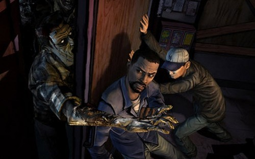 TheWalkingDead LeeandGlenn The Walking Dead: The Video Game Season 1 Review—A Testament to the Power of Interactive Storytelling