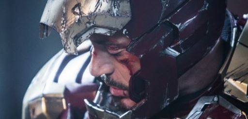 Tony Stark Is All Bruised and Battered In A New Image from Iron Man 3