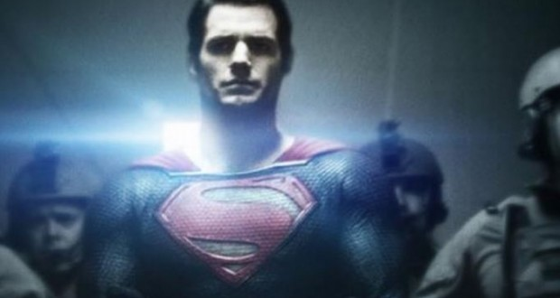 Superman's in Handcuffs, Plus Lens Flares in the New Man of Steel Poster