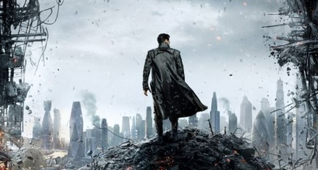The Star Trek Into Darkness Teaser Poster Is Here—Hey, That Gaping Hole Sure Looks Odd!