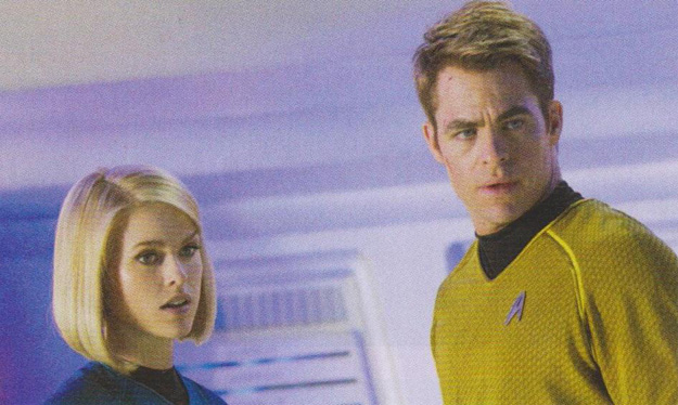 StarTrekIntoDarkness ChrisPineAliceEve The 13 Films We Cant Wait To See in 2013