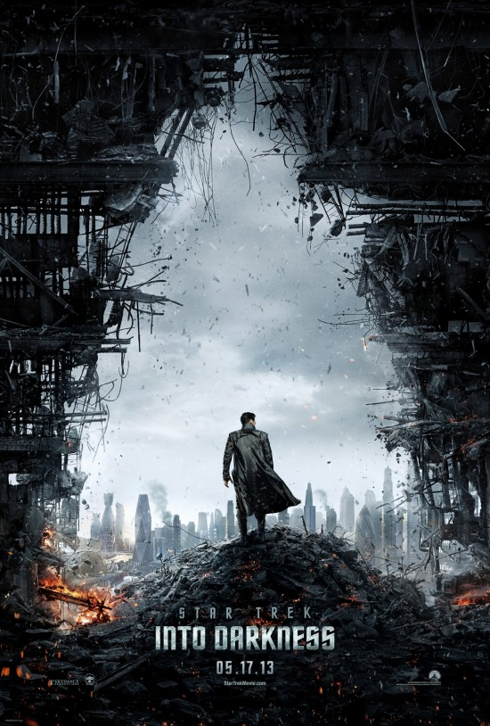 StarTrekIntoDarkness TeaserPoster The Star Trek Into Darkness Teaser Poster Is Here—Hey, That Gaping Hole Sure Looks Odd!