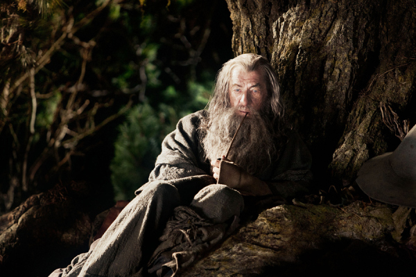 TheHobbit Gandalf Word of Mouth—The Hobbit: An Unexpected Journey Is Getting Decent, But Not Great Early Reviews