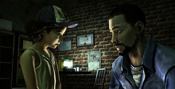 TheWalkingDead LeeAndClementine The Five Most Powerful Moments of The Walking Dead: The Video Game
