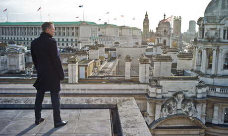 Skyfall Ending The 5 Best Movie Endings of 2012