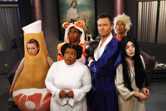 Community season 4 episode 2 review paranormal for Community tv show pool episode
