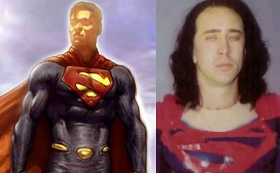 ... : Nicolas Cage and J.J Abrams Eulogize Their Now Dead Superman Movies