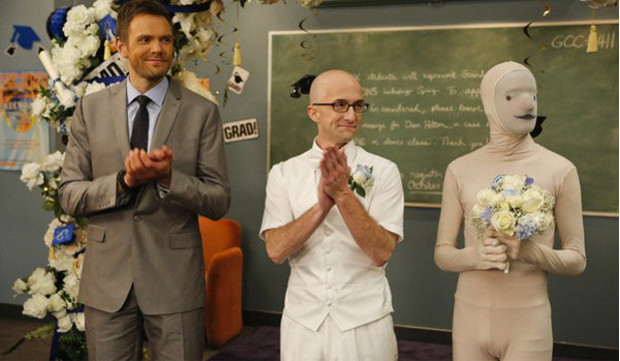 Community season 4 episode 13 review advanced for Community tv show pool episode