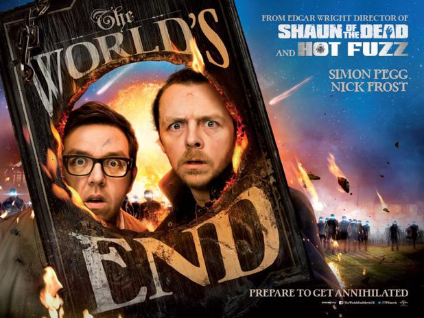 movies the worlds end poster Word of Mouth: The Worlds End Could Be The Great Trilogy Closer We Hoped For