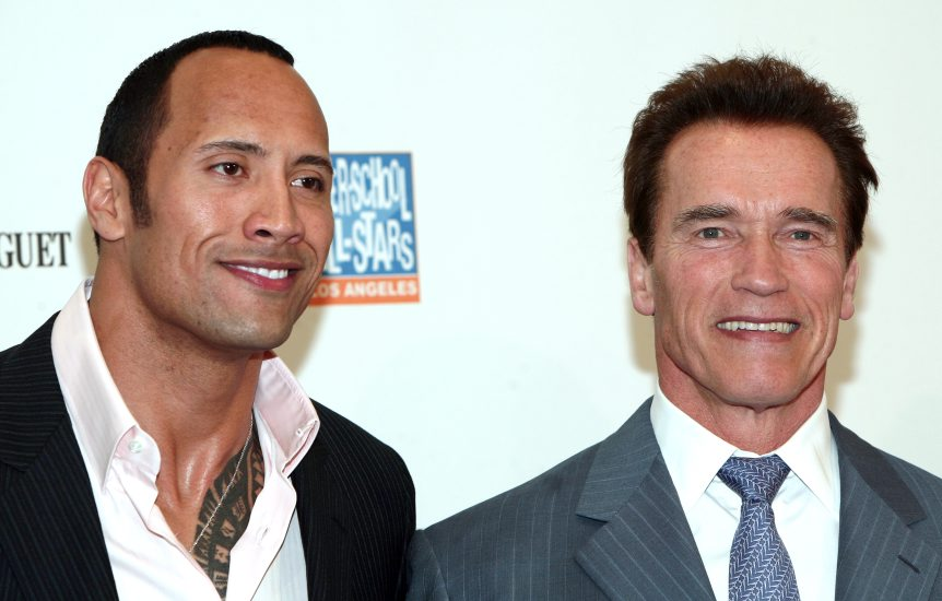 Arnold The Rock Terminator 5 Rumor Mill: Dwayne Johnson Will Battle Arnold Schwarzenegger In A 50s Set Terminator 5, Cause That Sounds Like Something The Internet Would Enjoy