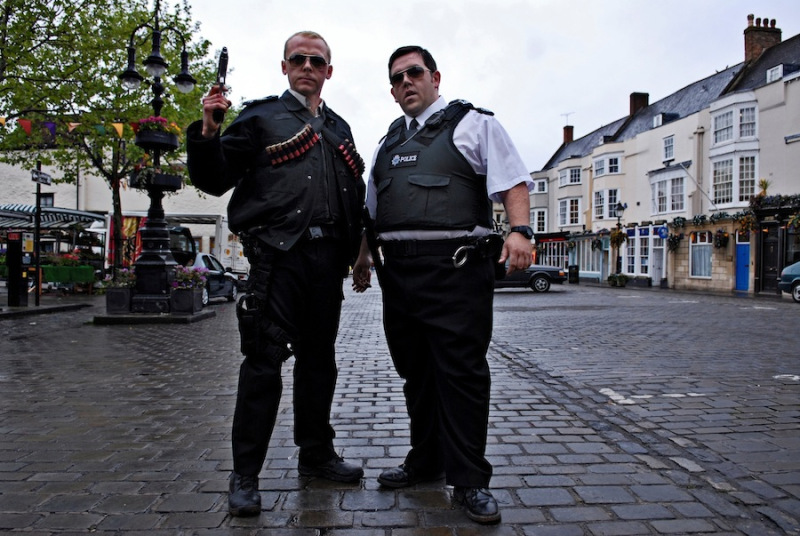 Hot Fuzz Buddy Cop The 5 Most Hilarious Buddy Cop Pairings Ever Put To Film