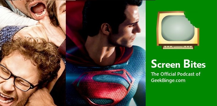 Screen Bites: Episode 13 – This is the End & Man of Steel