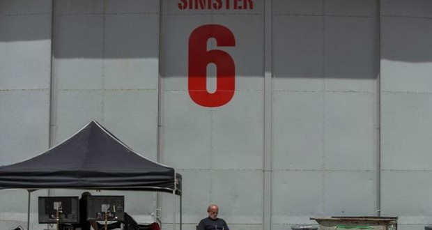 A Behind The Scenes Photo From The Amazing Spider-Man 2 Very Subtly Teases The Sinister Six