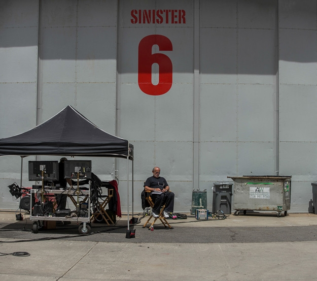 The Amazing Spider Man Sinister Six A Behind The Scenes Photo From The Amazing Spider Man 2 Very Subtly Teases The Sinister Six