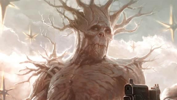 Vin Diesel's Mystery Marvel Gig?  Yeah, It's Playing A Tree