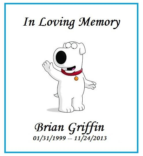 Family Guy Brian Memorian Brian Griffin Has Returned, So You Can Go Back To Not Caring About Family Guy Again