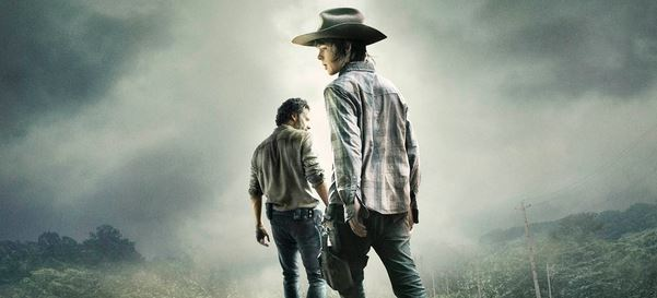 A New Poster for The Walking Dead Season 4 Revealed: Them Grimes Boys Are Going on a Magical Train Adventure (Probably)