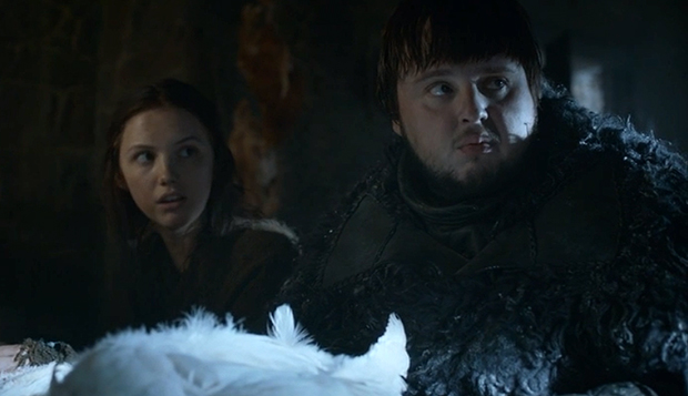 Game of Thrones Fan Theories Sam and Gilly