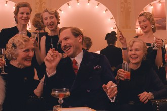Ralph Fiennes as M Gustave in The Grand Budapest Hotel