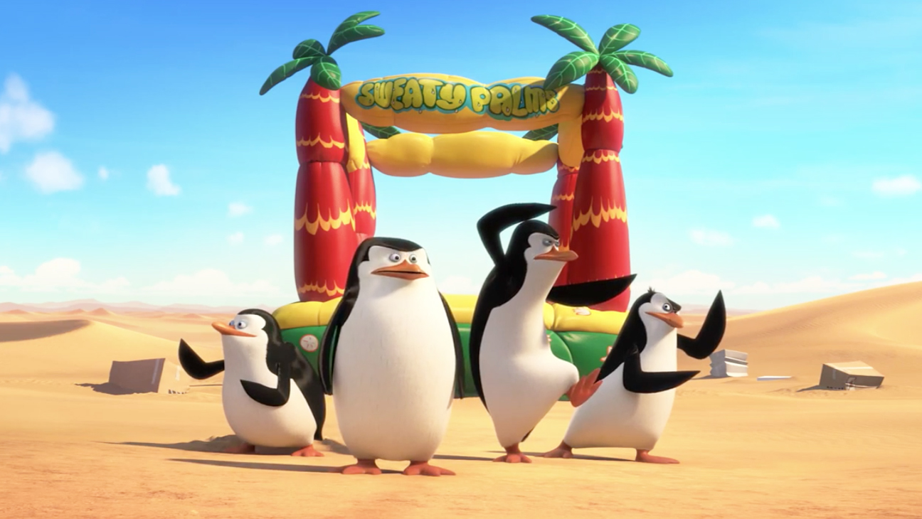 Madagascar Movie Penguins