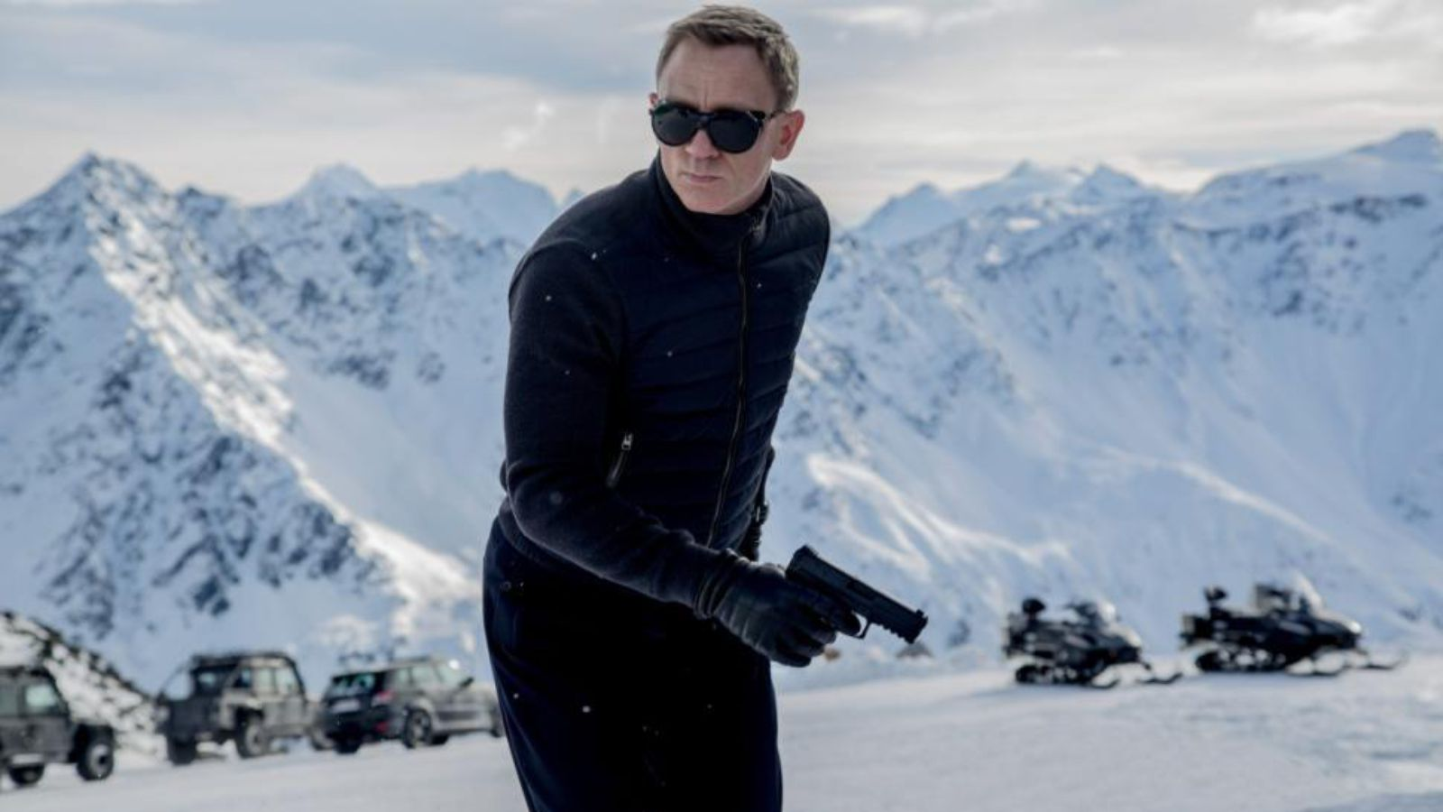 Let's Make Fun of James Bond and His Silly Glasses In The First Image from Spectre
