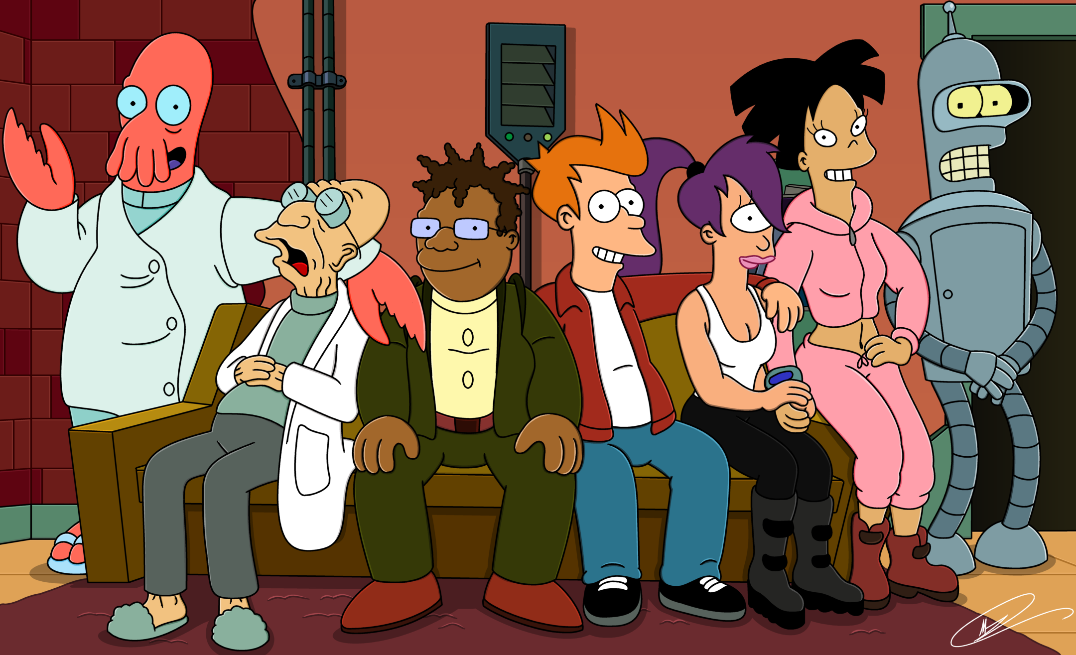 Futurama Season 7 Review A Disappointingly Uninspired Season Leads To An Ultimately Satisfying Conclusion